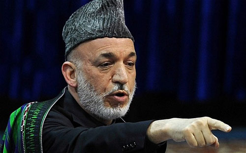 Let Behind India Consulate attack: Karzai