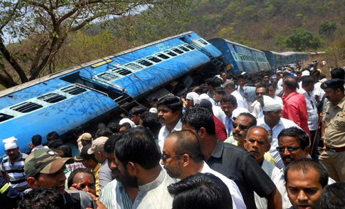 Indian Train crash