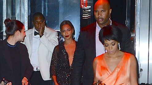Beyonces Sister ATTACKED Jay Z