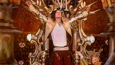 Michael Jackson 'back' at Billboard Awards