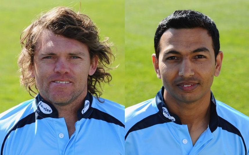 Lou Vincent and Naveed Arif