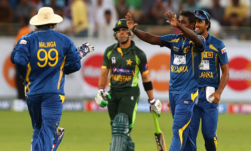 Pakistan vs Sri Lanka Match Schedule