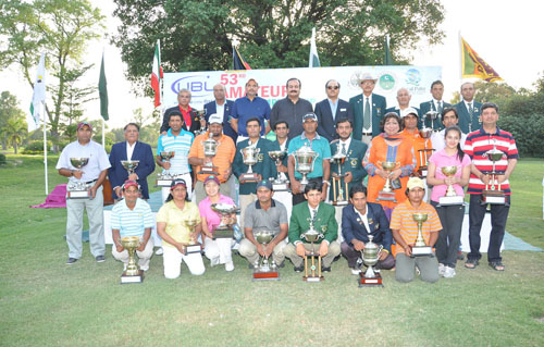 Zulfiqar Ali of Multan Wins National Golf Title