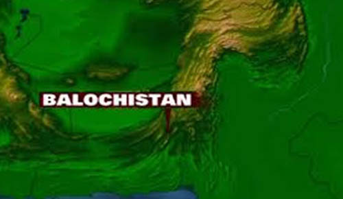 Blast near railway track in Bolan