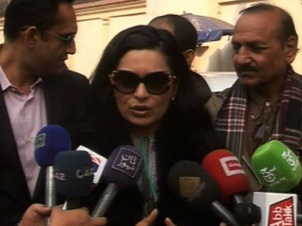 Meera's house attacked in Lahore