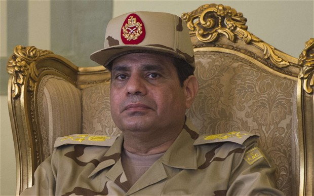 Army Boss Sisi Sworn in as Egypt President