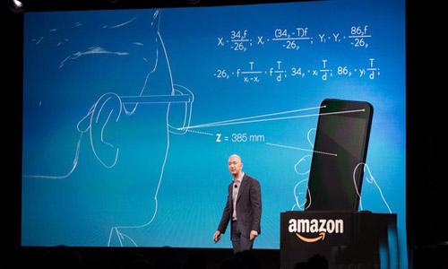 Amazon Unveils 3D-ready 'Fire' Smartphone