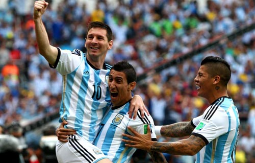 Argentina Win Over Nigeria