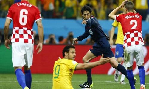 Neymar leads Brazil