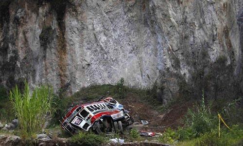 Bus crash in northern