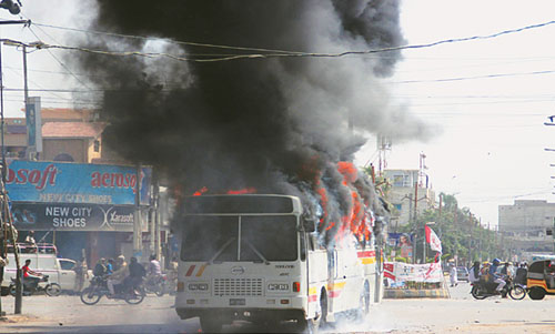 Violence, Fear Hit Karachi after Altaf's 'Arrest' in London