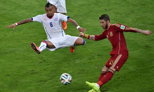 Chile win Match