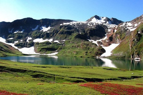 Dudipatsar Lake in north of the Kaghan Valley