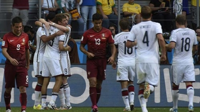 Muller Outguns Ronaldo as Germany rout Portugal