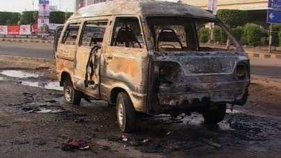 Jang Group Vehicle attacked in Rawalpindi