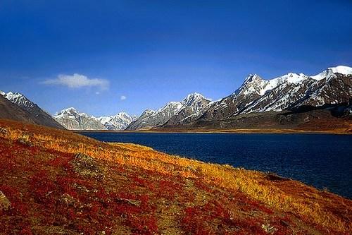 Karambar Lake in Khyber Pakhtunkhwa