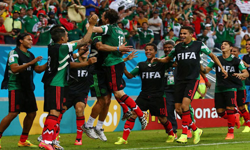 Mexico beats Croatia