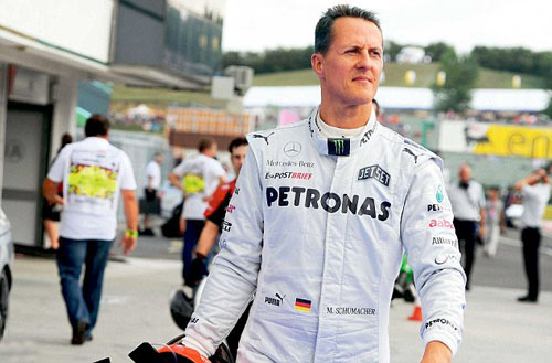 michael schumacher divorce