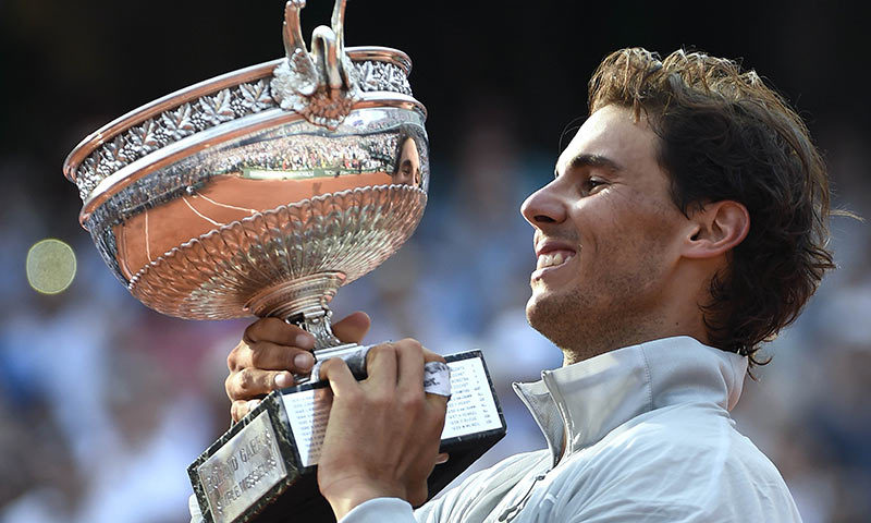 Nadal win French Open