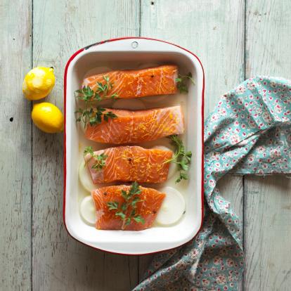 Oily fish  Baking Dish
