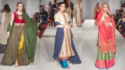 Pakistani designers dazzle at Fashion Parade, London