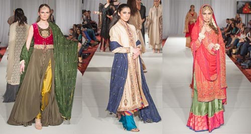 Pakistani designers dazzle at Fashion Parade, London