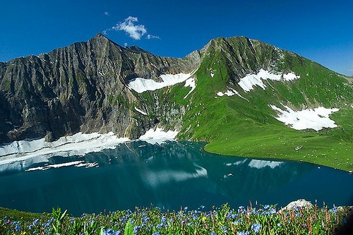 Ratti Gali Lake in Neelam Valley,