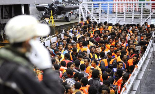 Italy rescues More Than 3500 Migrants