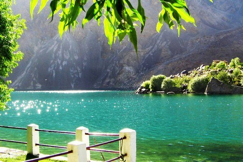 Satpara Lake in Gilgit, Baltistan