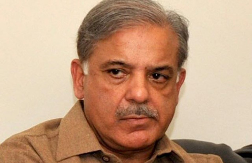 Shahbaz Sharif Says he Can't Event Think of Using Force