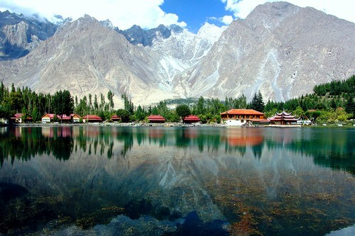 Shangrila Lake most beautiful lakes