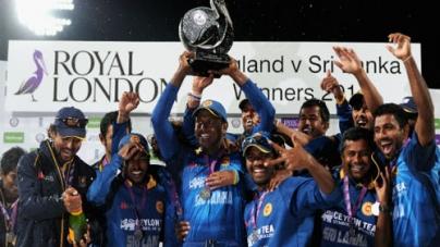 Sri Lanka beat England by 6 Wickets to Win the ODI Series