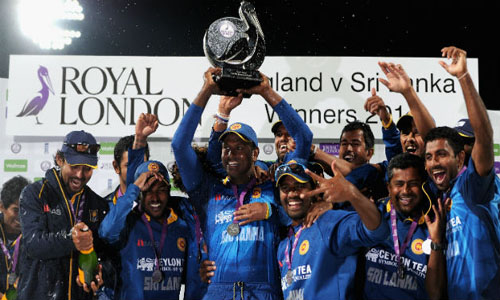 Sri Lanka beat England by 6 Wickets to Win the ODI Series