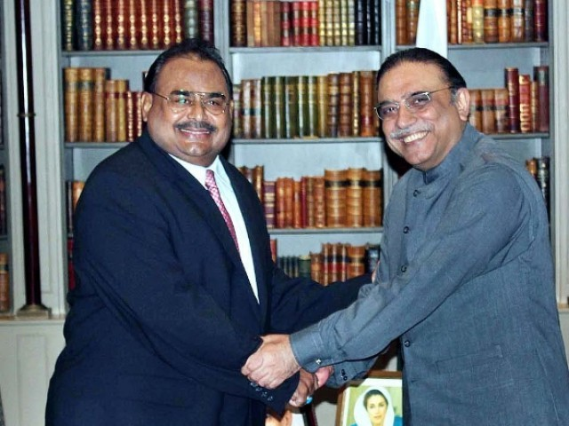 Zardari meet Altaf Hussain