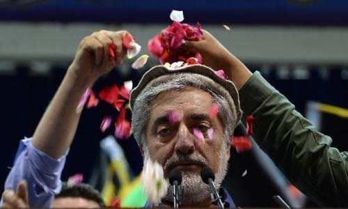 Afghan Poll Crisis: Defiant Abdullah Claims Victory