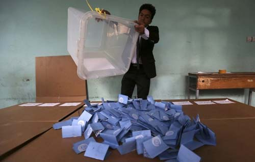 Afghanistan's election 2014