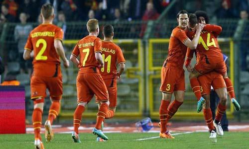 Belgium Beat USA
