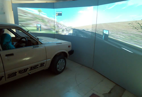Pakistan's First Simulator Computerized Car Driver Training School