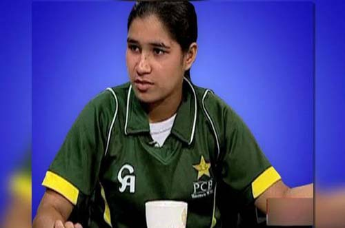 Female cricketer  Halima Rafiq