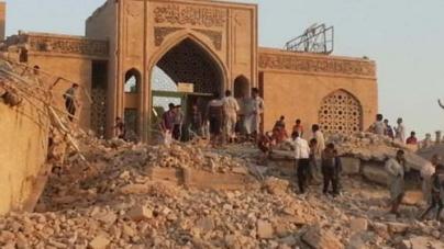 Iraq Jihadists Blow Up Hazrat Yunus (A.S) Shrine