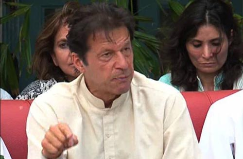 IDPs Won't be Left Alone to Suffer: Imran Khan