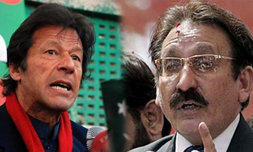 Iftikhar Chaudhry Sends Legal Notice to Imran Khan