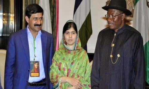 Malala and Nigeria President