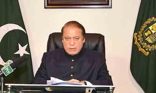 "Pakistani PM Nawaz Sharif Demands End To ""Genocide of Palestinians"""