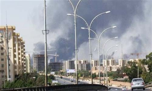 Rocket Attack on  Libya