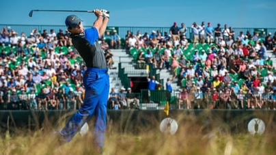 Rory McIlroy leads The Open Championship