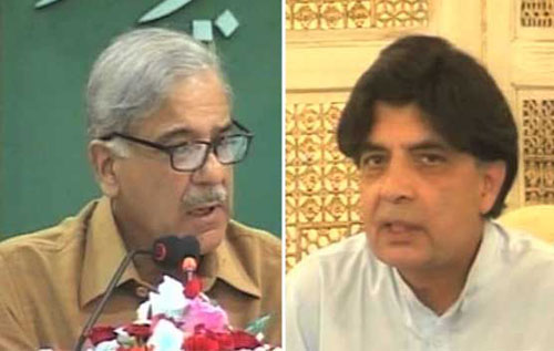 Shahbaz and Nisar  Bridge Differences