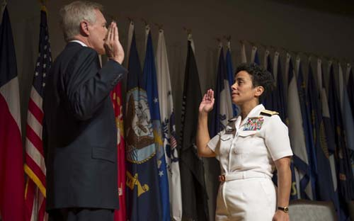 US Navy Gets its First Four-Star Female Admiral