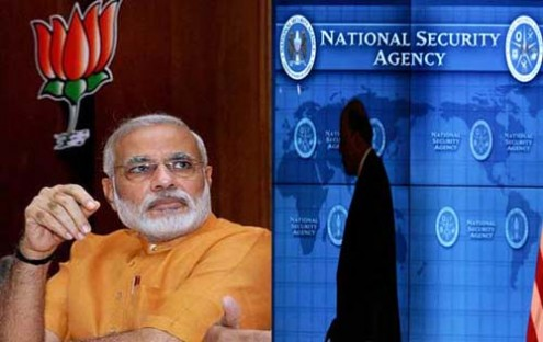 NSA spying on BJP