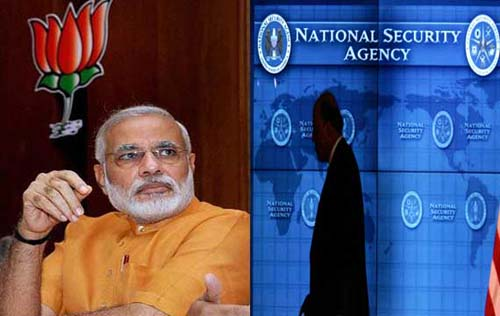 Allegation of NSA Spying On BJP Throws Shadow on Modi-US Handshake